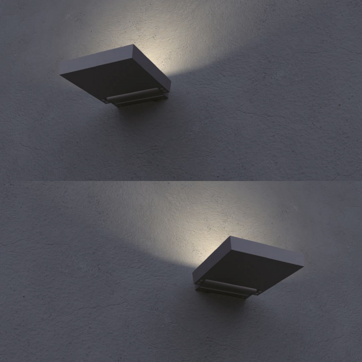 Wand/plafondlamp Alpha