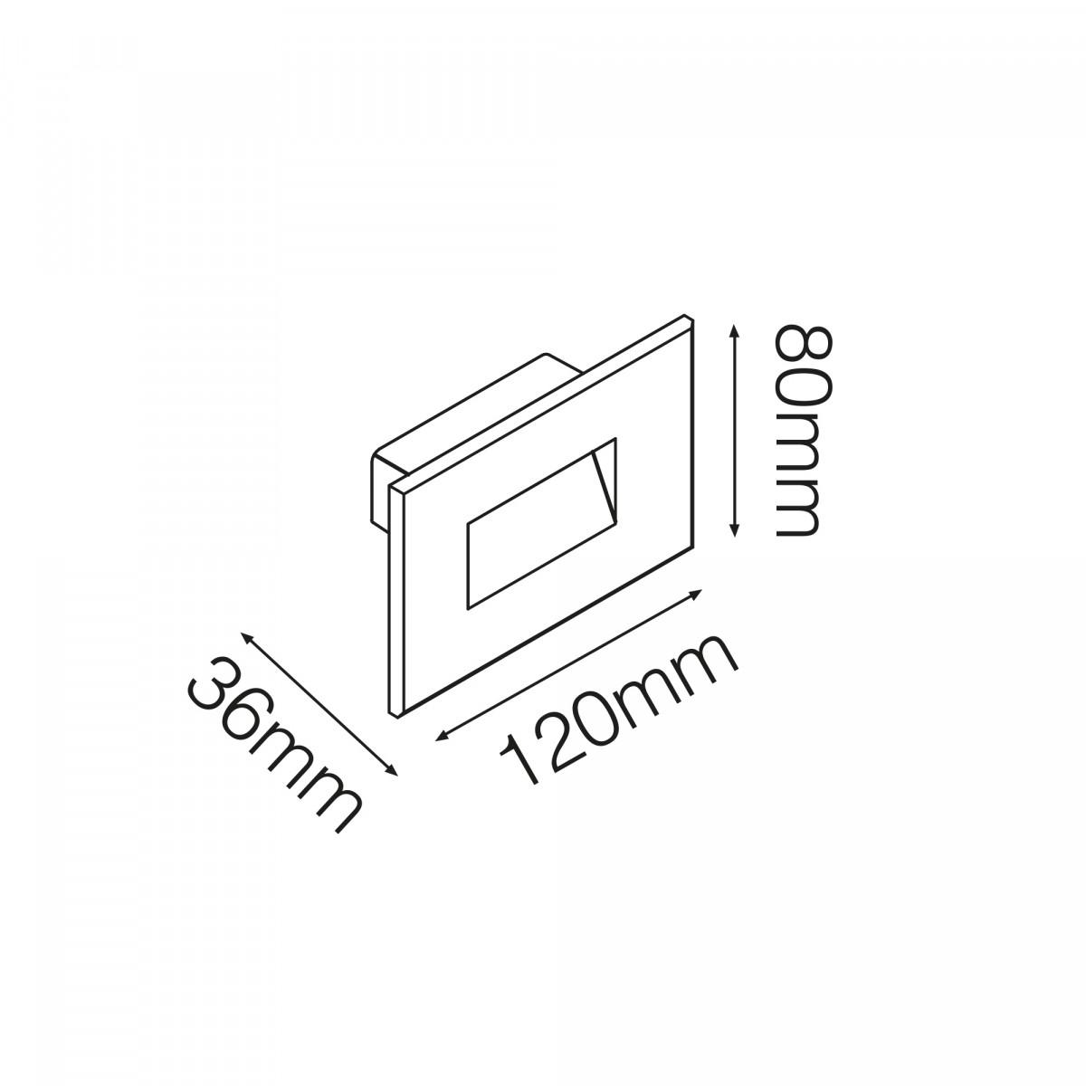 Inbouwspot Silicon 1