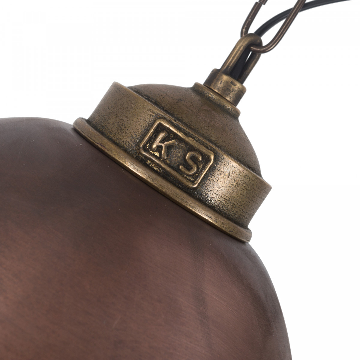 Hanglamp Loft ll Brons & Koper