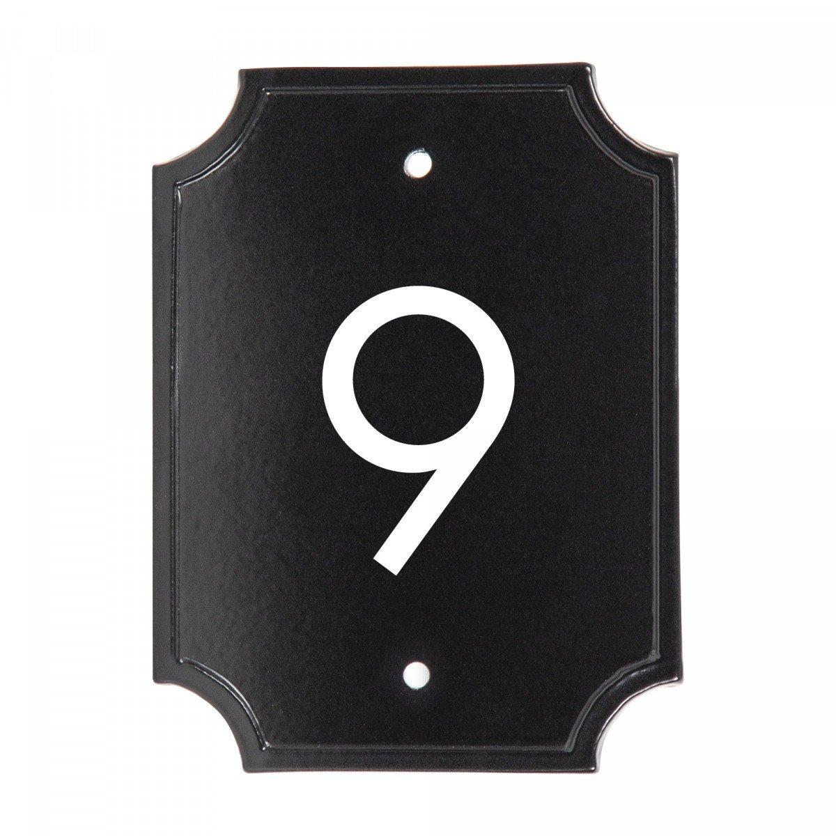 Mooi klassiek vormgegeven naambord geveldecoratie van hoogwaardige kwaliteit in een stijlvolle klassieke stijl van het merk KS Verlichting