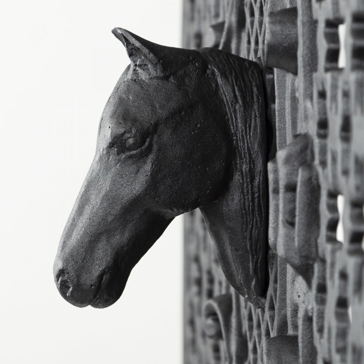 Paardenhoofd Aluminium 12 x 13