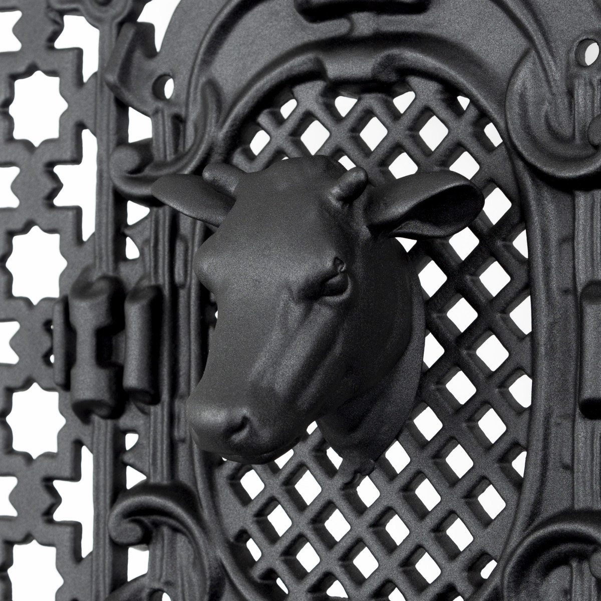 Koeienkop aluminium 11,5 x 13