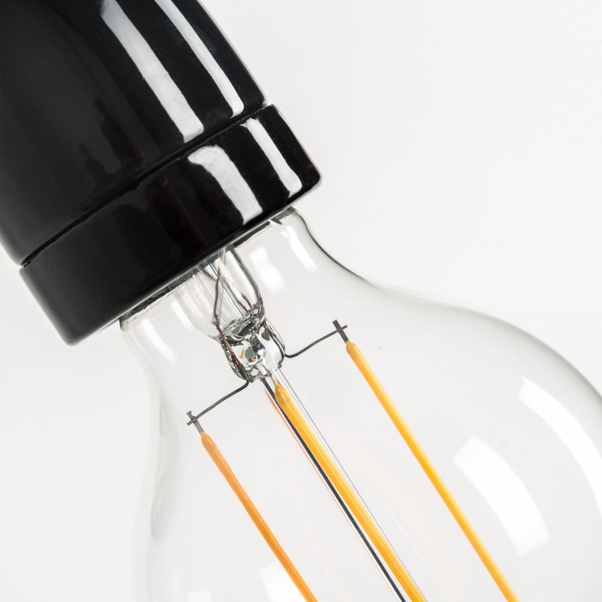 Wandlamp Nathalie zwart