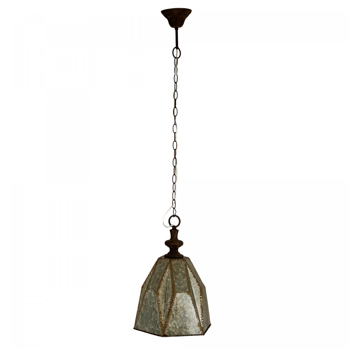 Hanglamp Tijuana zink