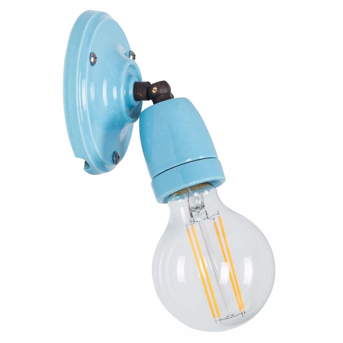 Wandlamp Esther blauw