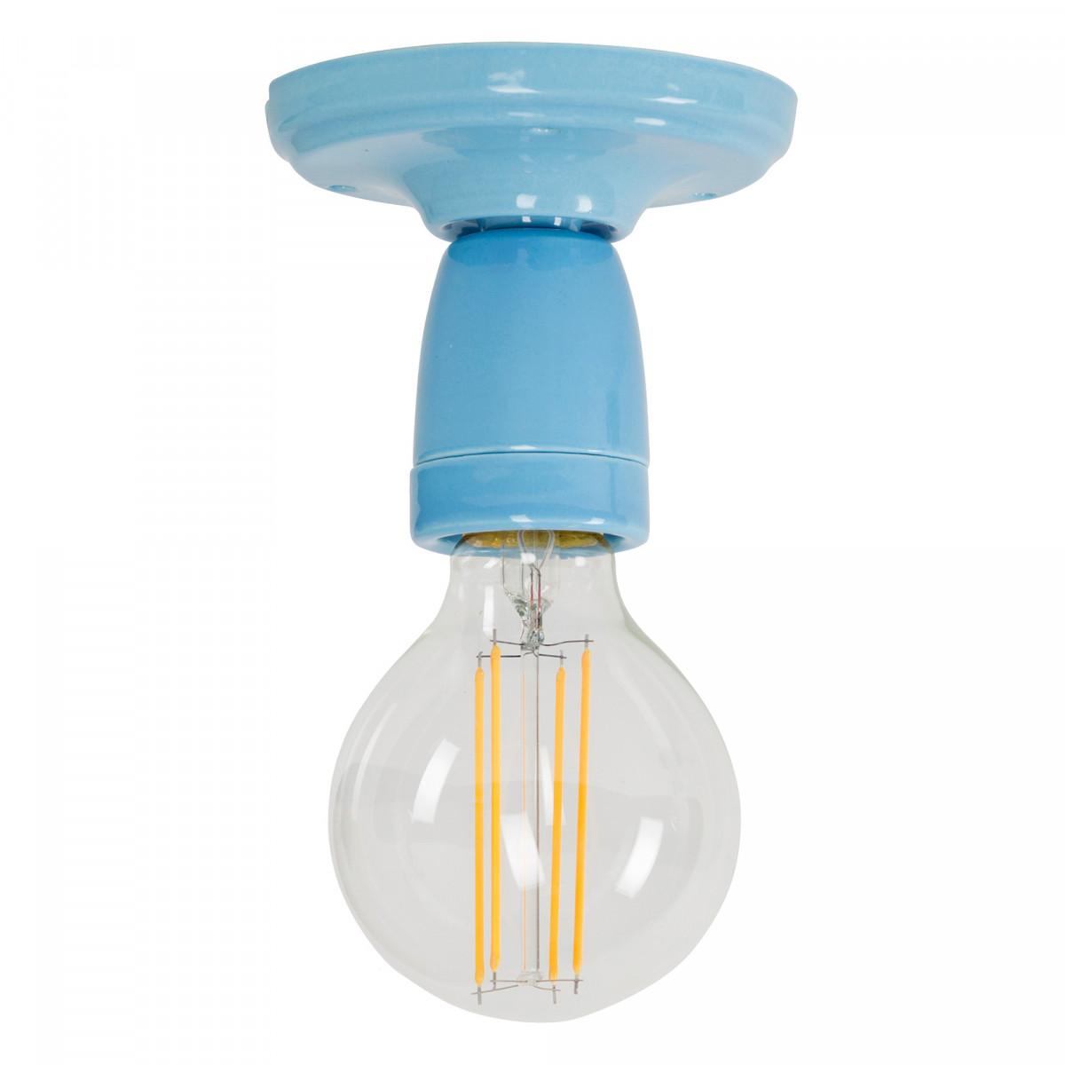 Plafondlamp Mir blauw