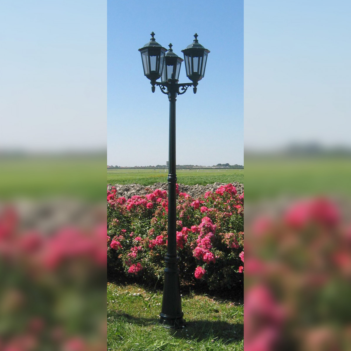 Tuinlantaarn Ancona 3-lichts