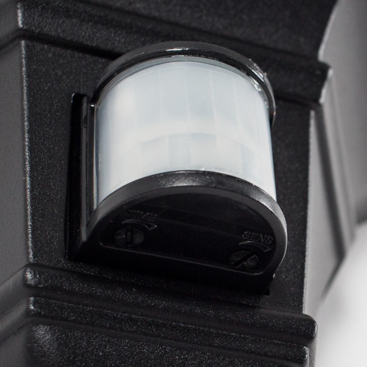 Buitenlamp Ancona plat + sensor
