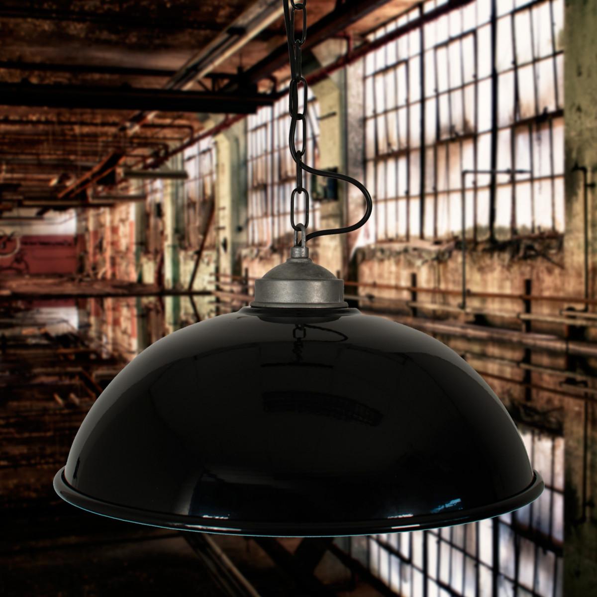 Hanglamp Industrial  Zwart