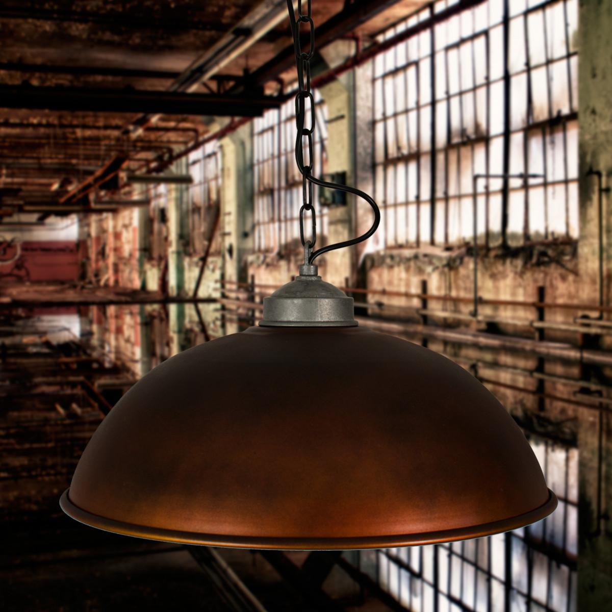 Hanglamp Industrial XL  Copper Look