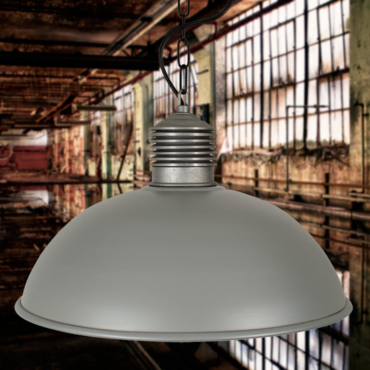 Hanglamp Industrieel II Ruw Alu