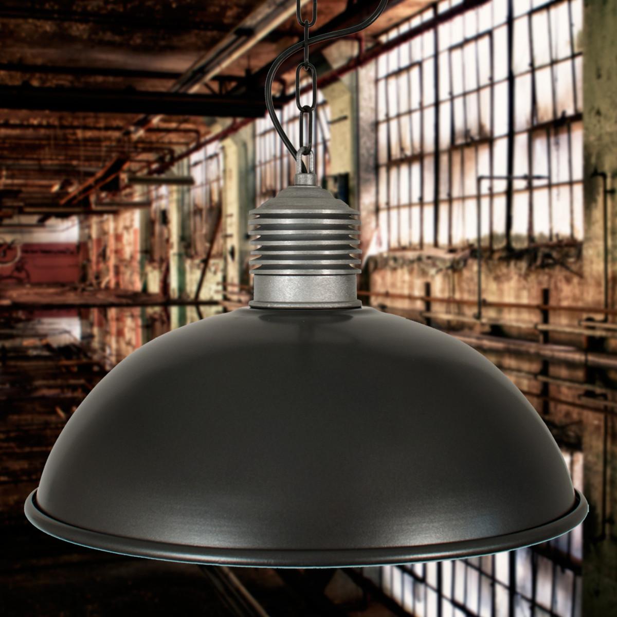Hanglamp Industrieel II Antraciet