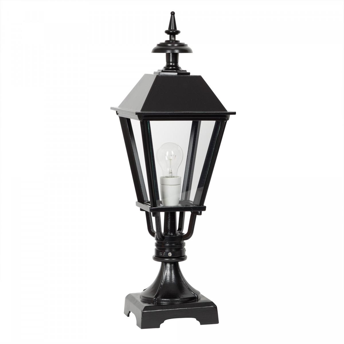 tuinverlichting klassiek Chester tuinlamp terras verlichting lantaarnpaal sokkellamp ook geschikt als lichtzuil op een poer buitenverlichting van KS Verlichting