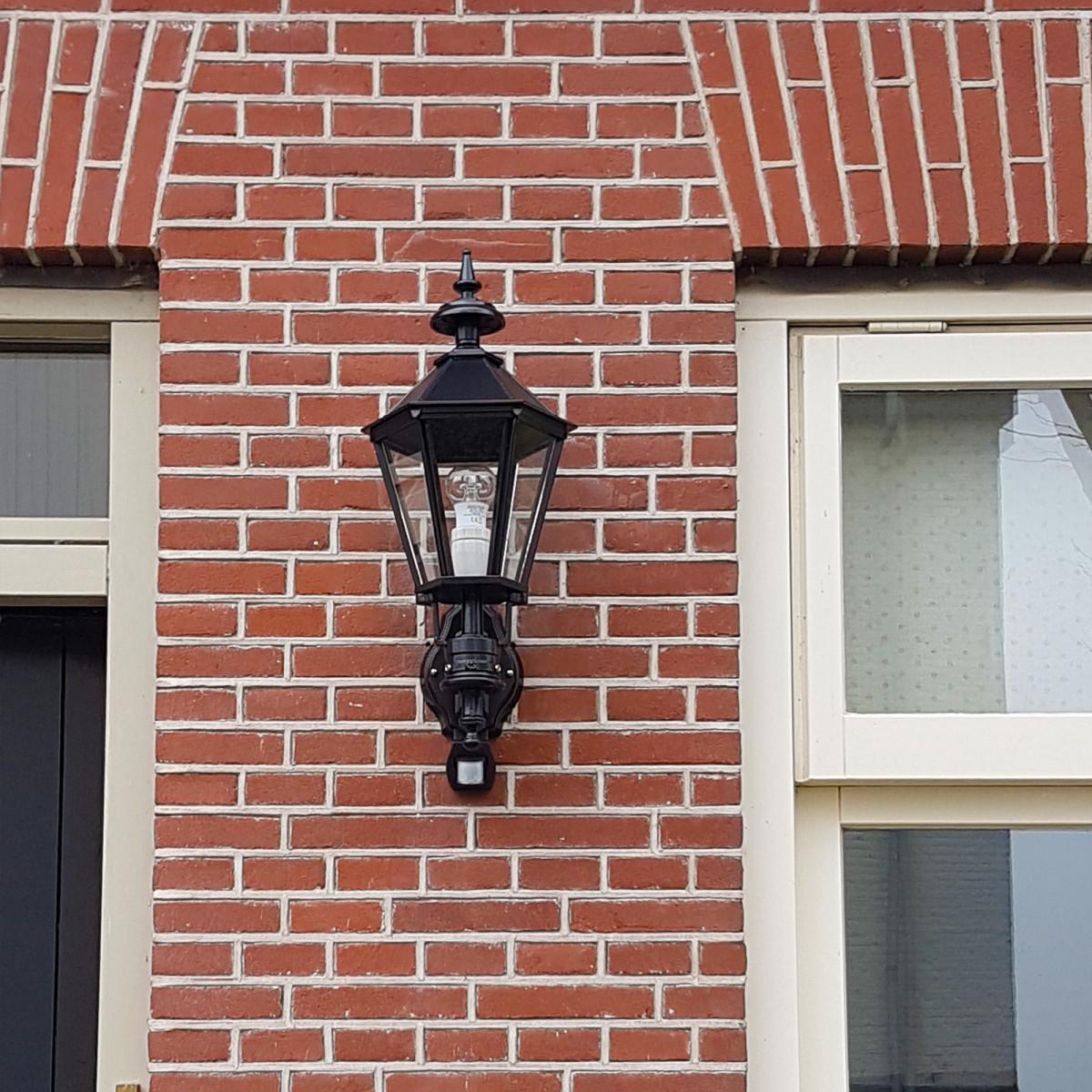 Muurlamp Bolton met sensor