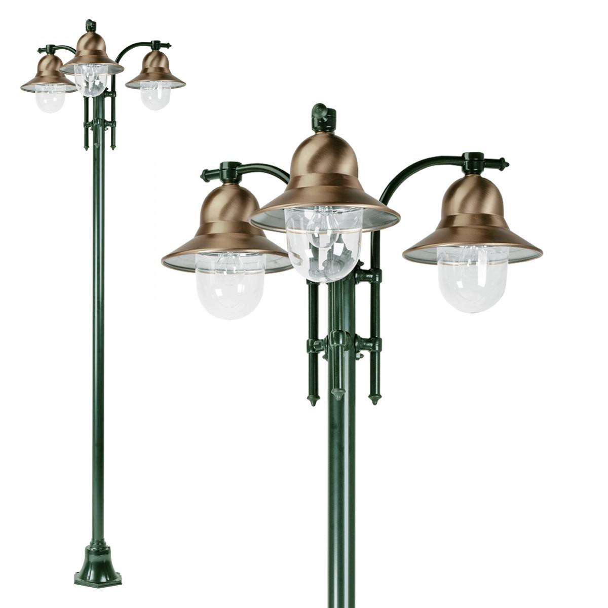 Tuinlantaarn Toscane 3-lichts