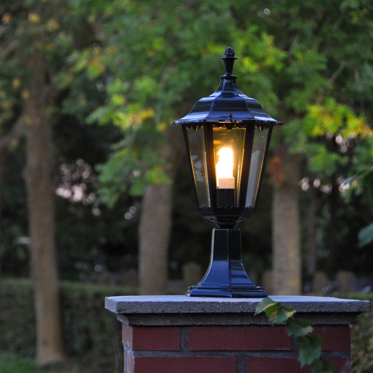Tuinlamp Ancona sokkel