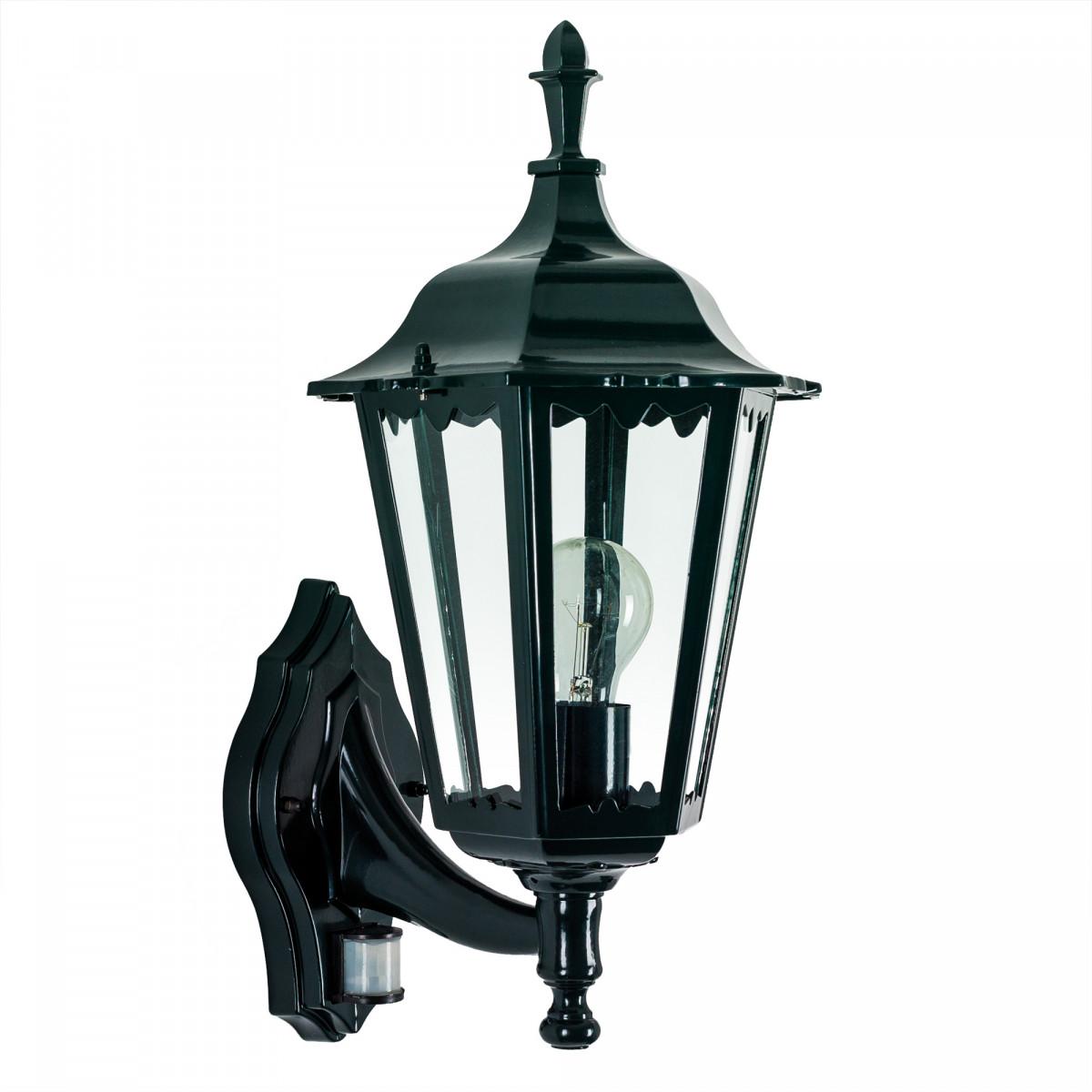 Muurlamp Ancona staand met sensor