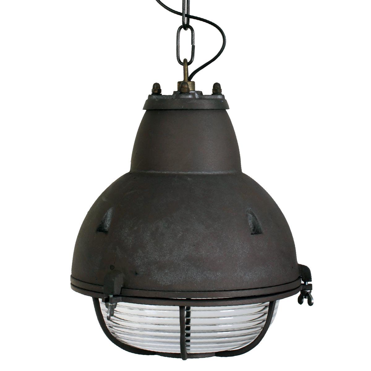 Kettinglamp Navigator Donker Aluminium