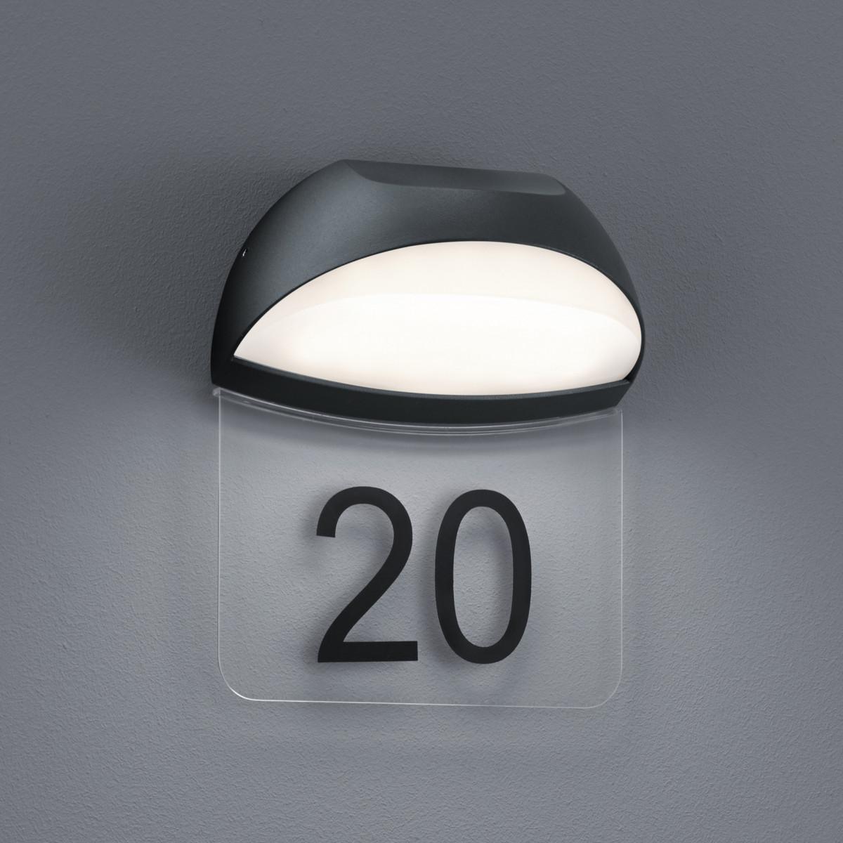 Muurlamp Numero