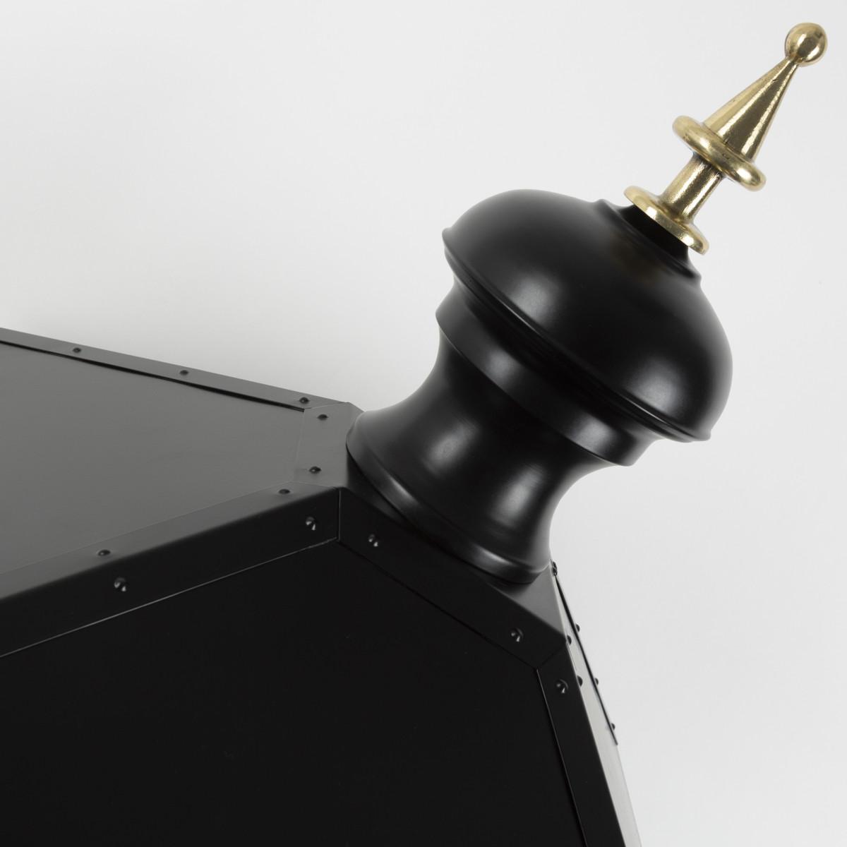Lantaarnkap Purmerend XL zwart