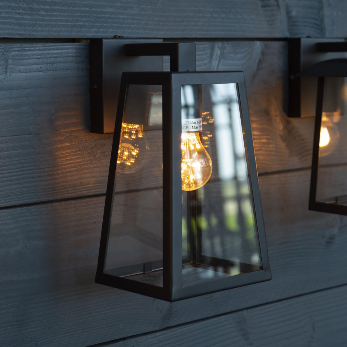 Design buitenlamp muur 7592