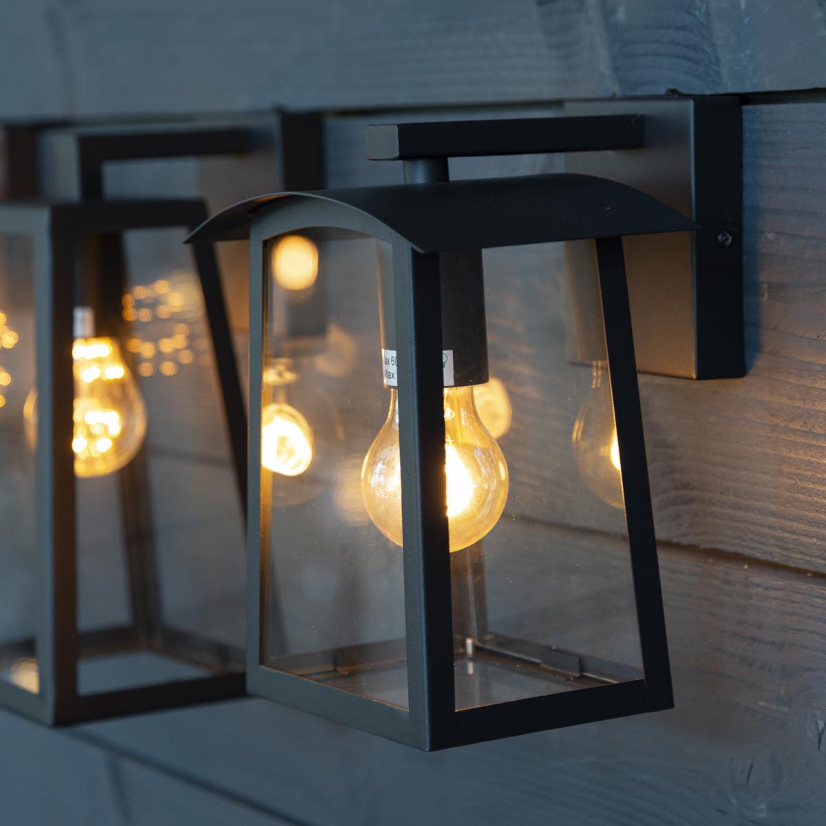 Design buitenlamp muur 7593