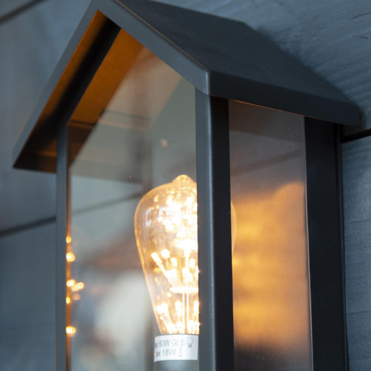 Design buitenlamp muur 7595