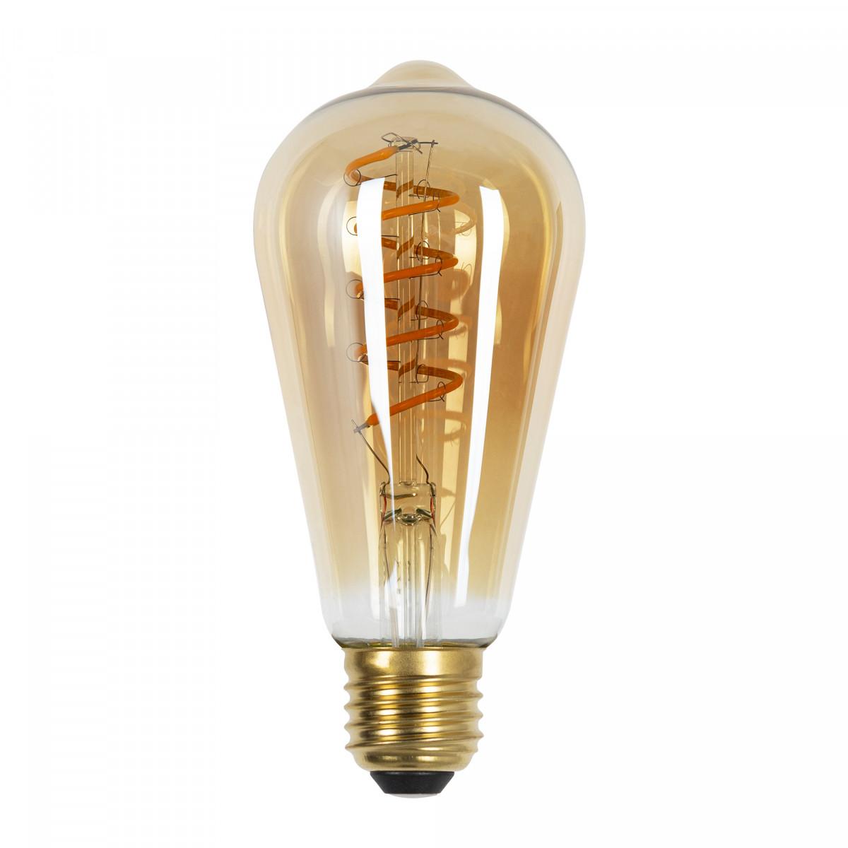 LED Rustic Spiral 4W