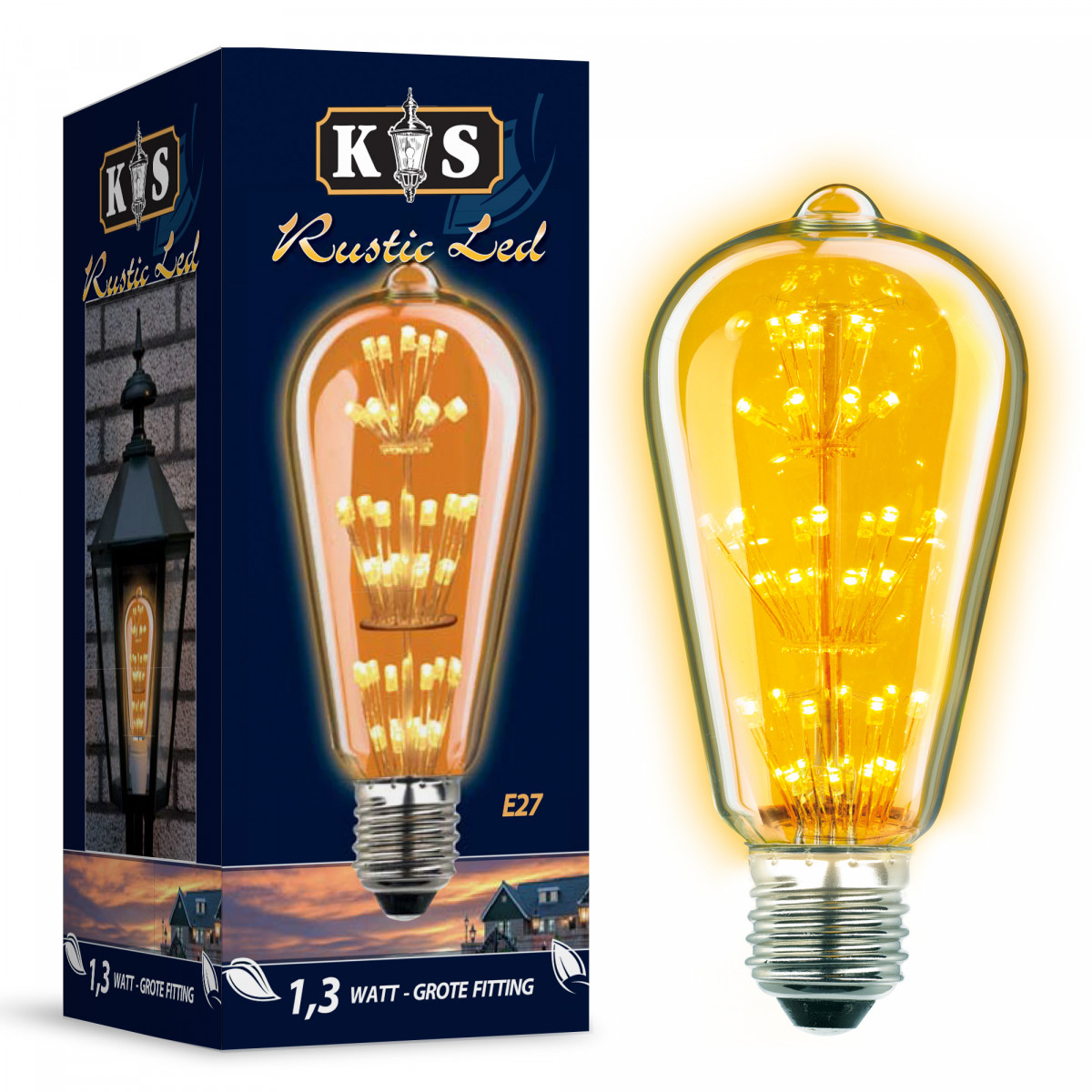 LED Lamp Rustic Led 1,3W