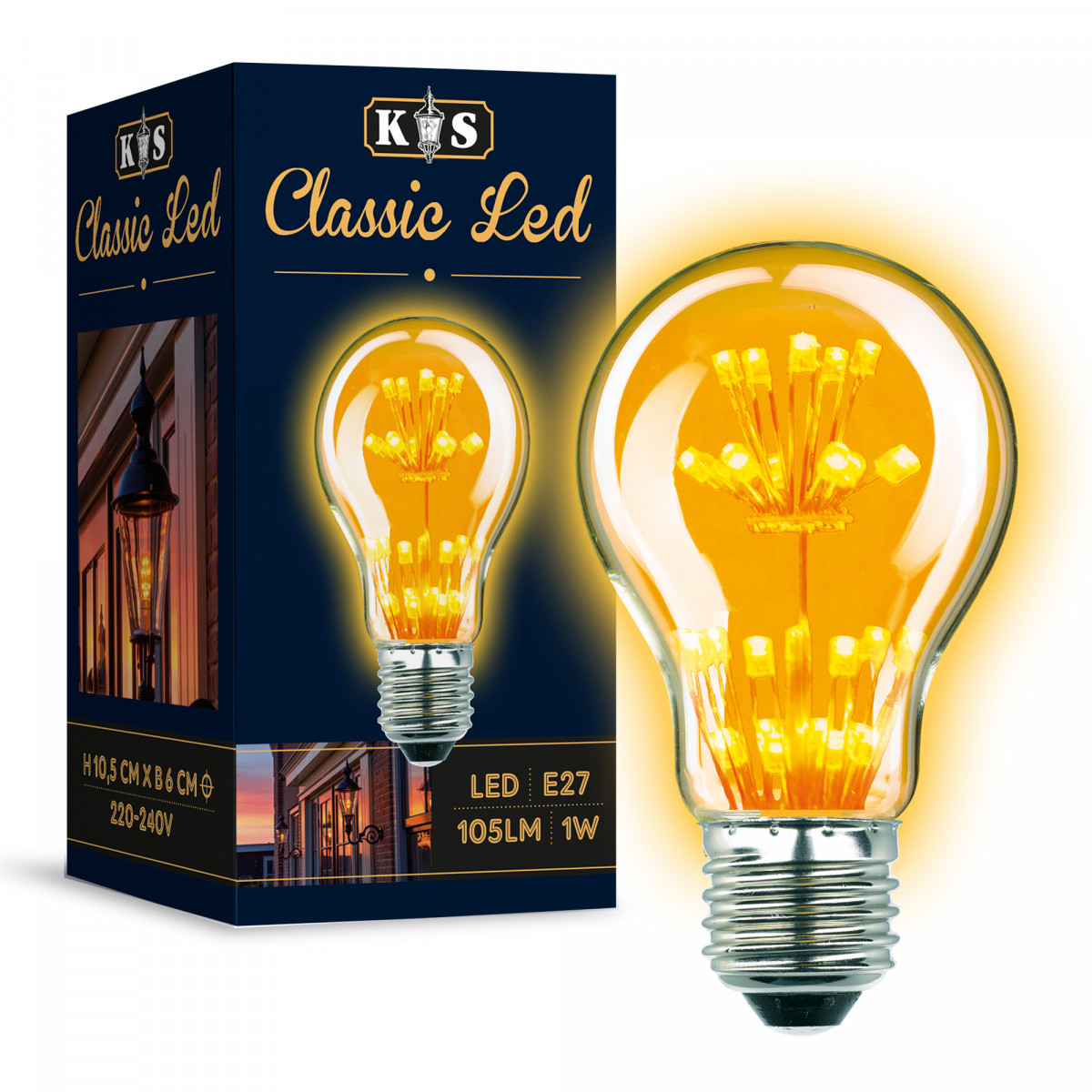 LED Lamp Classic Led 1W
