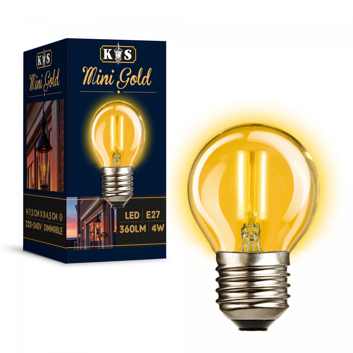 LED Lamp Mini Gold 4W