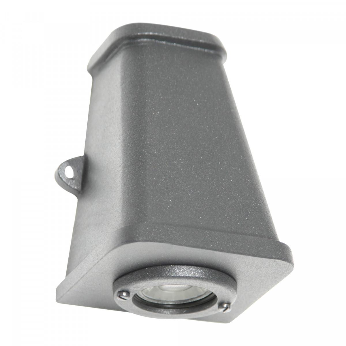 Wandlamp Triton Ruw Aluminium