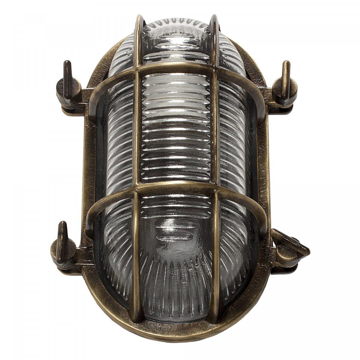 Muurlamp Nautic III Brons