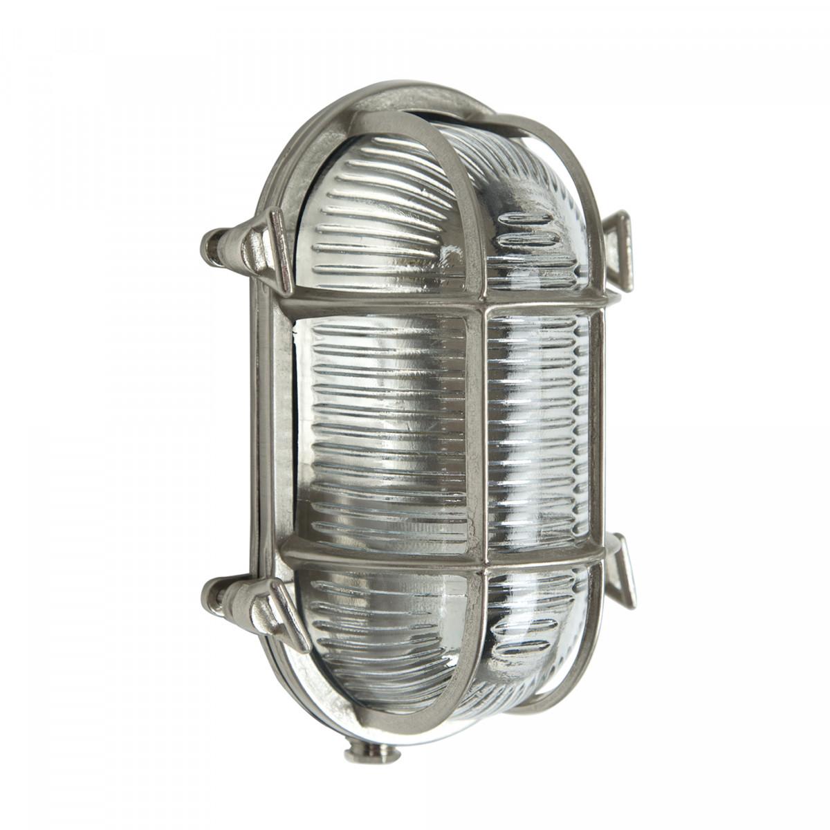 Muurlamp Nautic III Nikkel