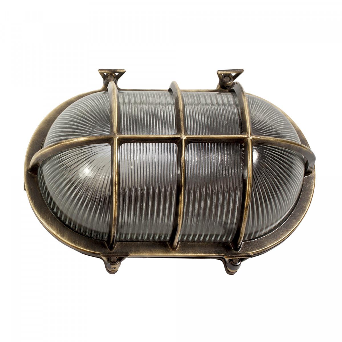 Muurlamp Nautic IV Brons