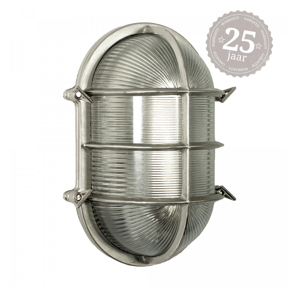 Muurlamp Nautic IV Nikkel