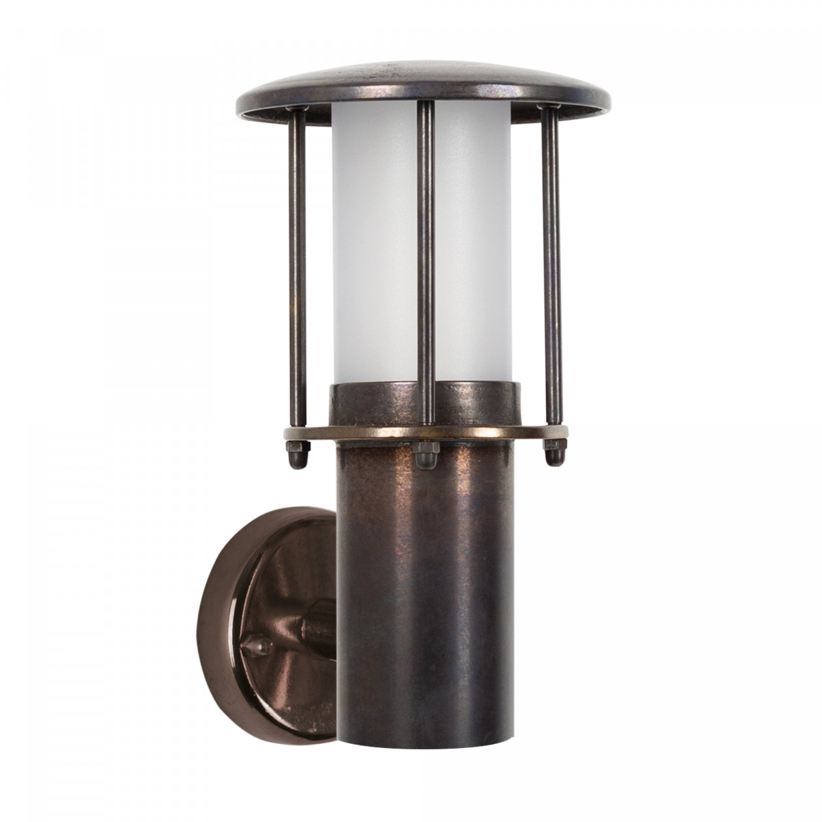 Resident Muurlamp dark brass