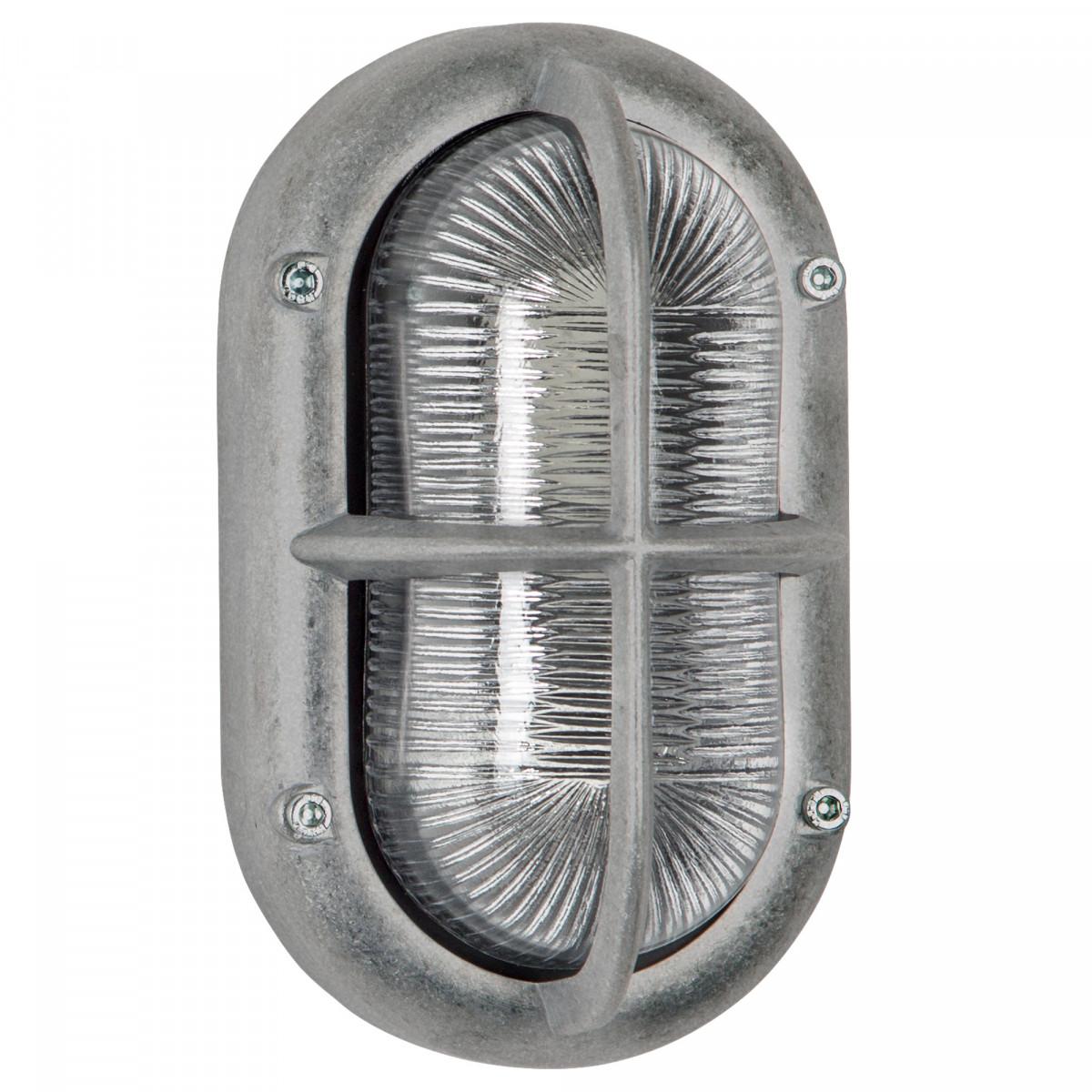 Buitenlamp Oculus ruw aluminium