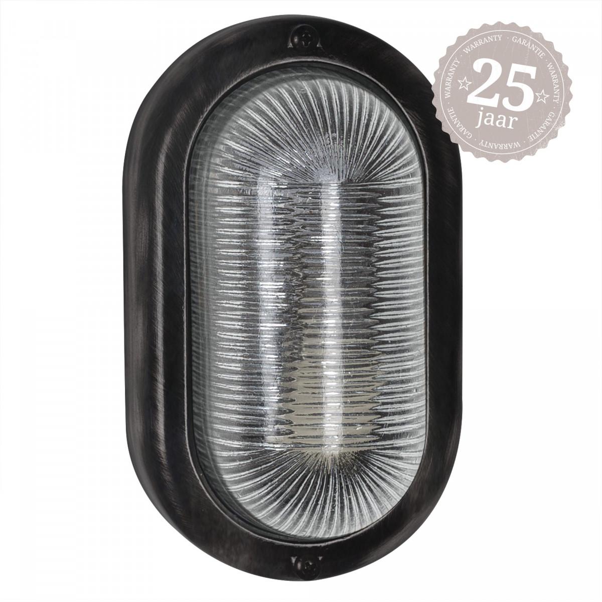 Ochi black brons scheepslamp