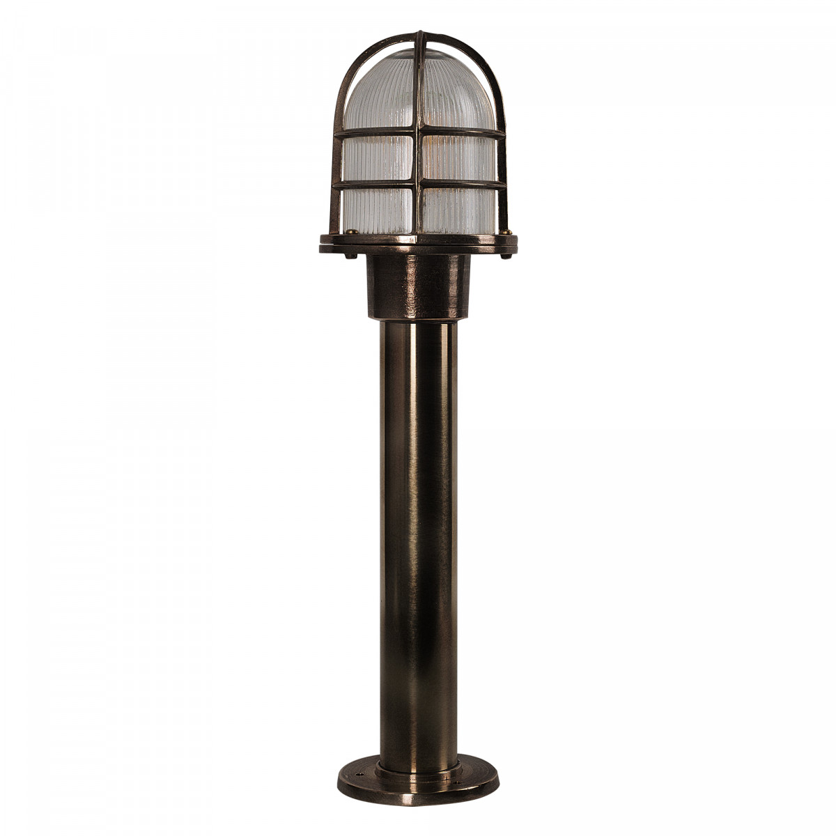 Sokkellamp Caspian Brons