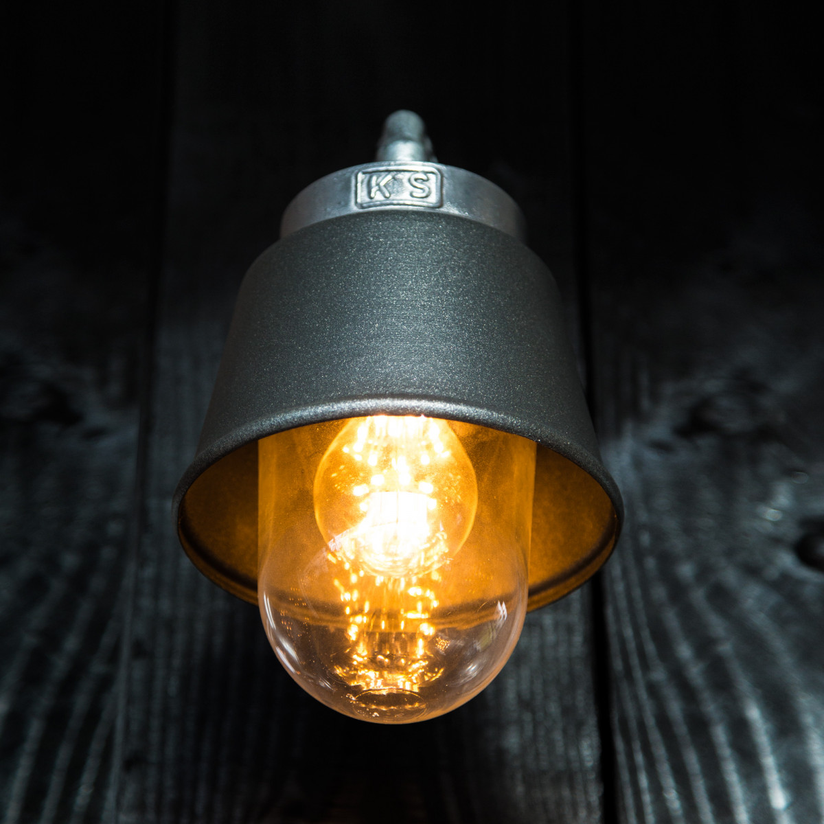 Wandlamp Kostas 90 Antraciet