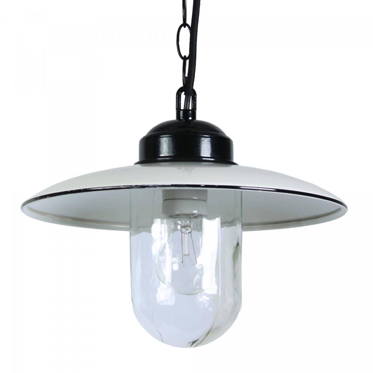 Stallamp Solingen Hang Wit