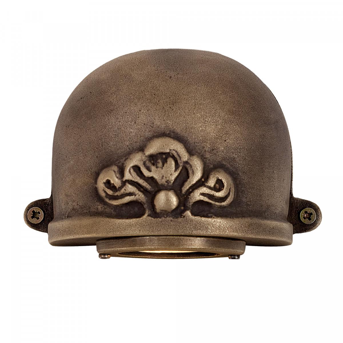 Downlighter Alba wandspot brons - KS Verlichting
