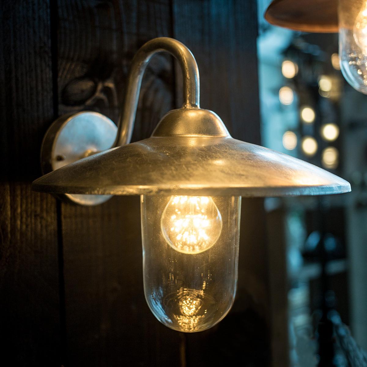 Buitenlamp Brig verzinkt staal