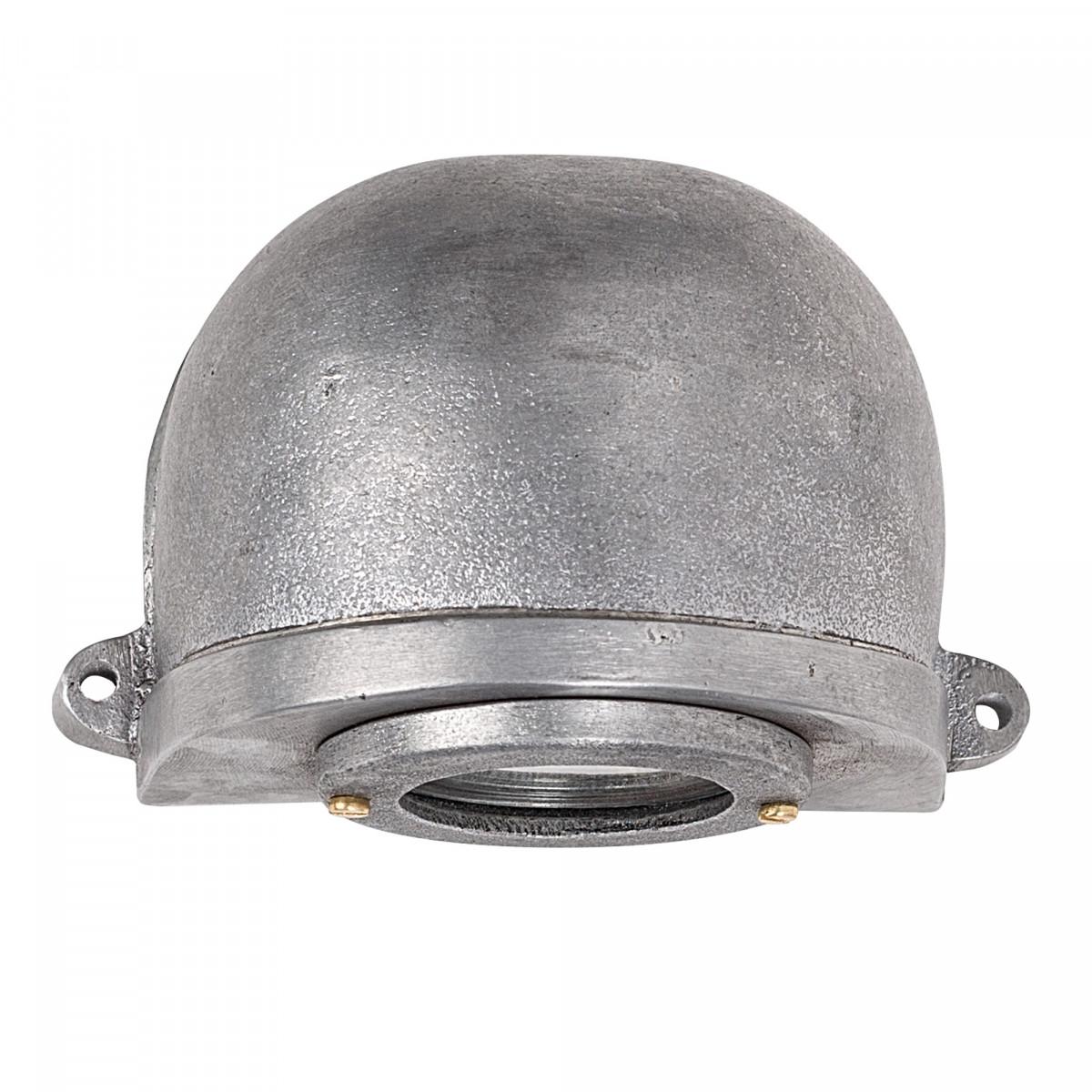 Muurspot Dusky Ruw Aluminium
