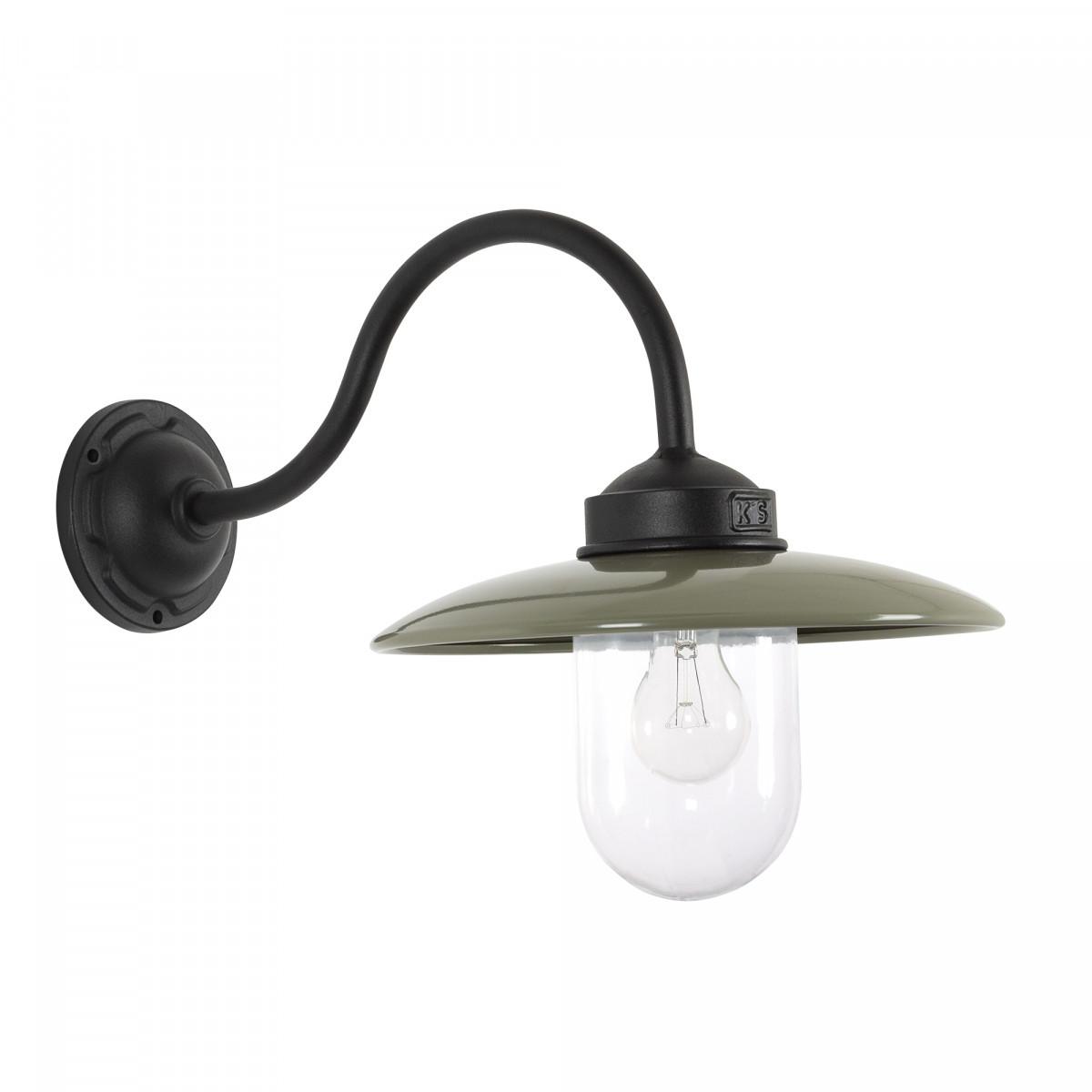 Stallamp Solingen Zwart Taupe