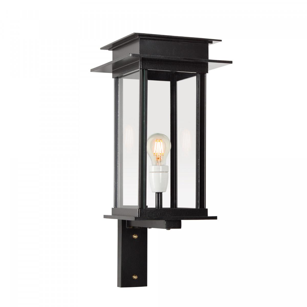strak klassieke buitenlamp, stijlvolle buitenverlichting, muurlamp Praag, moderne gevelverlichting van KS Verlichting, handmade buitenlampen