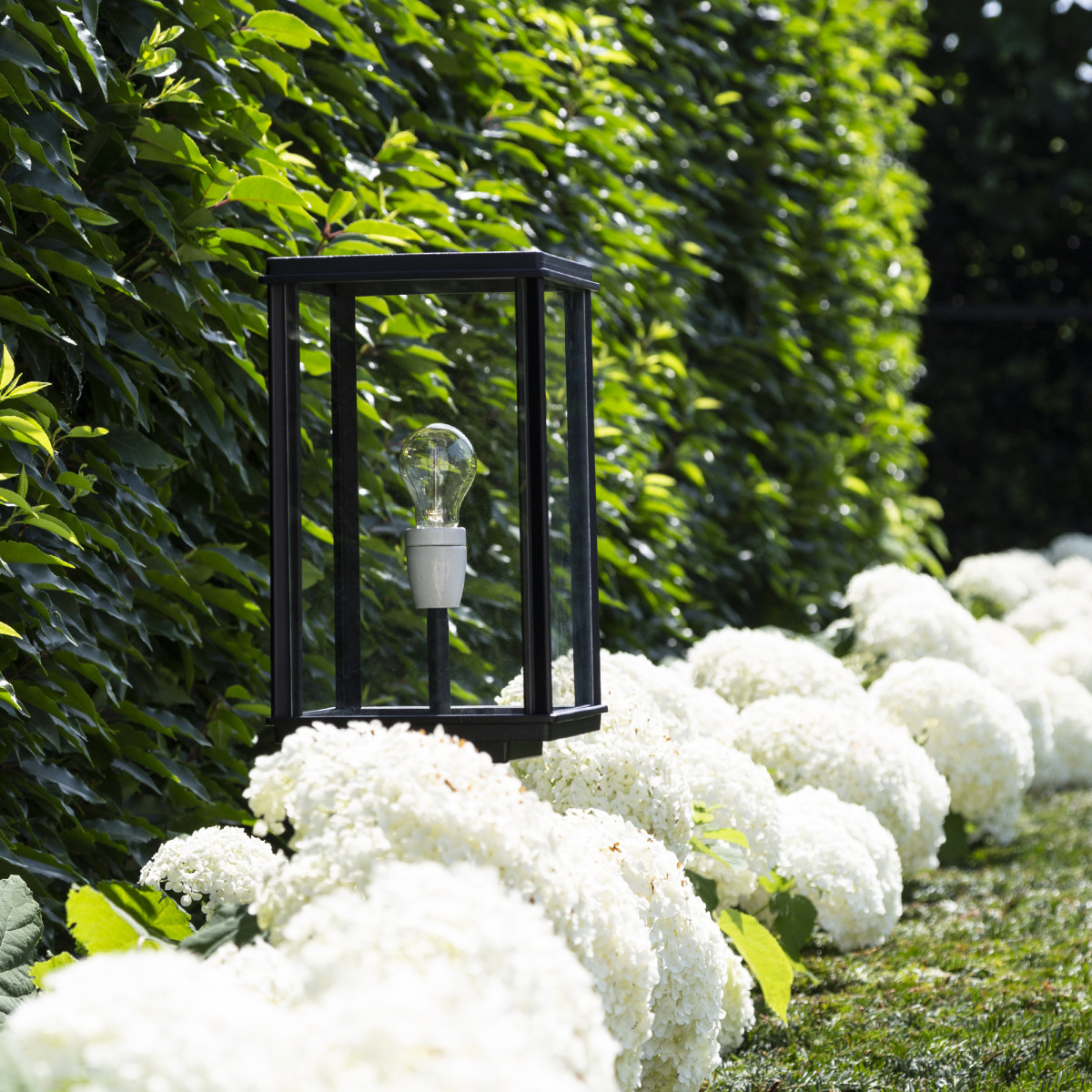 Buitenverlichting tuinlamp Capital terras XL van KS Verlichting, strak klassieke tuinverlichting, terraslantaarn