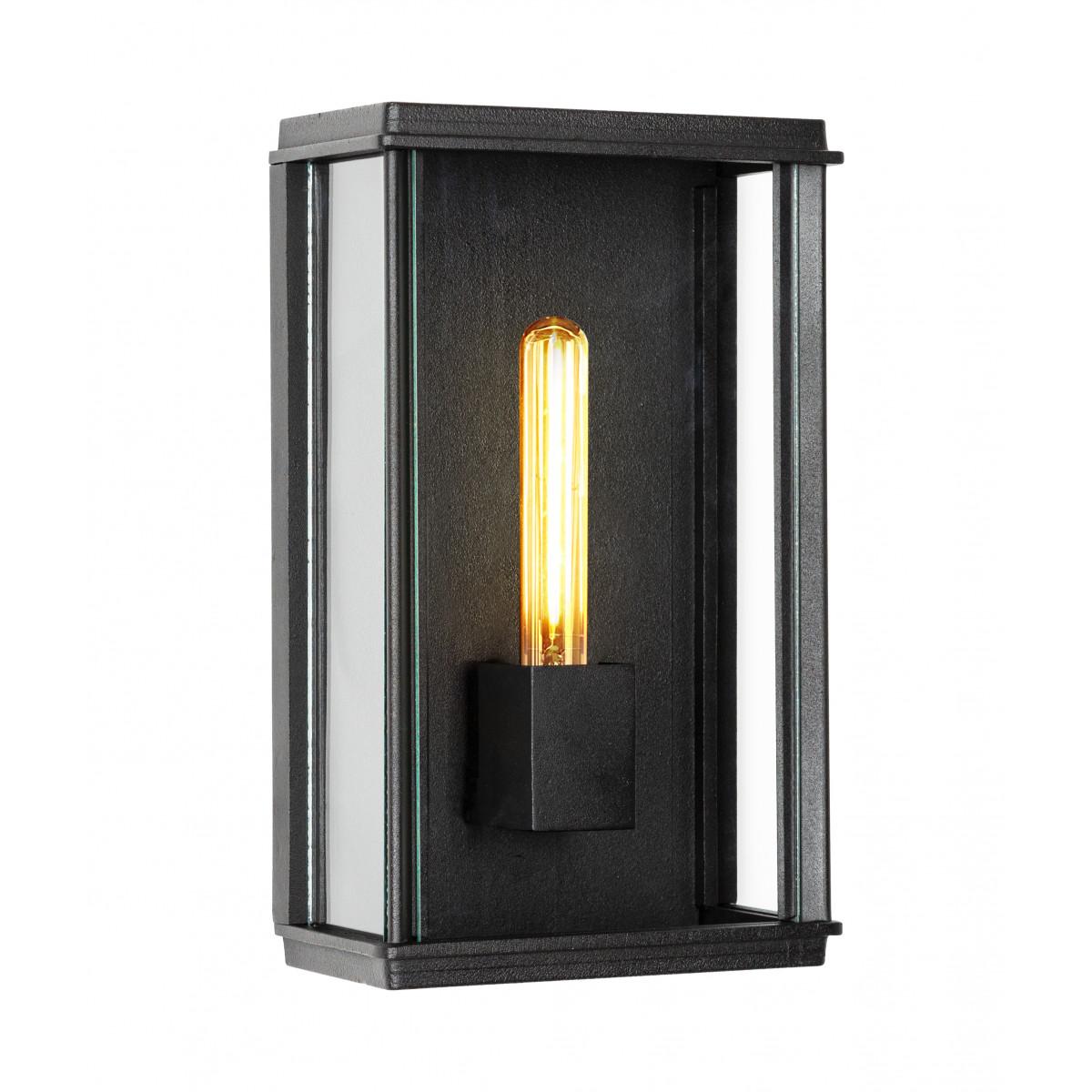 Buitenlamp Capital XL plat exclusieve buitenverlichting strak klassiek van KS Verlichting met de hand vervaardigde wandverlichting van hoge kwaliteit