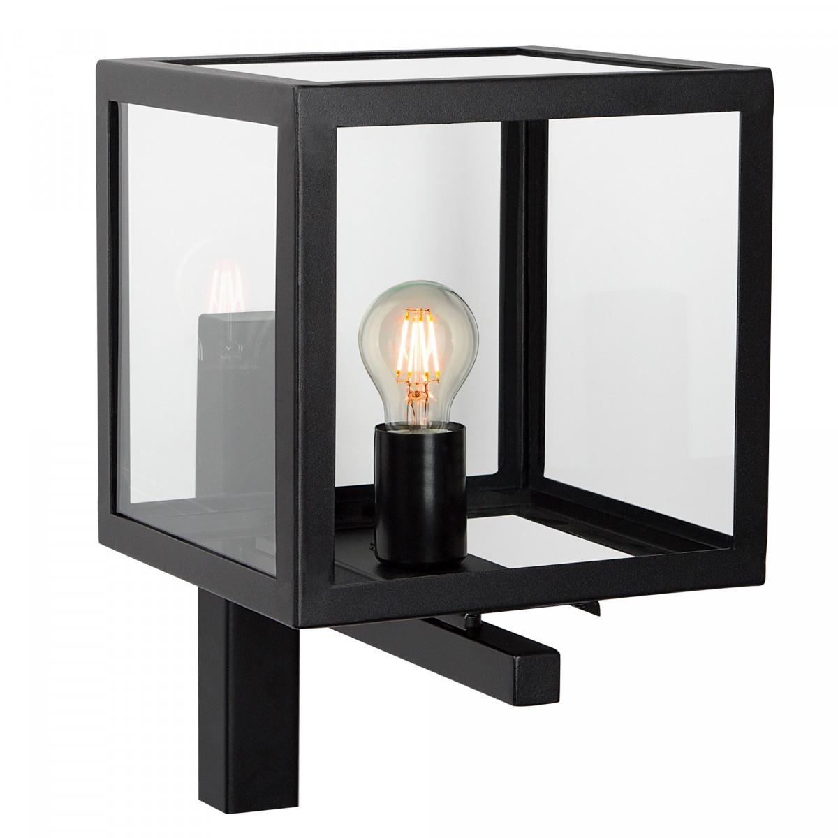 buitenlamp loosdrecht, strak stijlvol klassiek vormgegeven buitenverlichting, gevelverlichting vierkant tijdloos en strak van KS Verlichting
